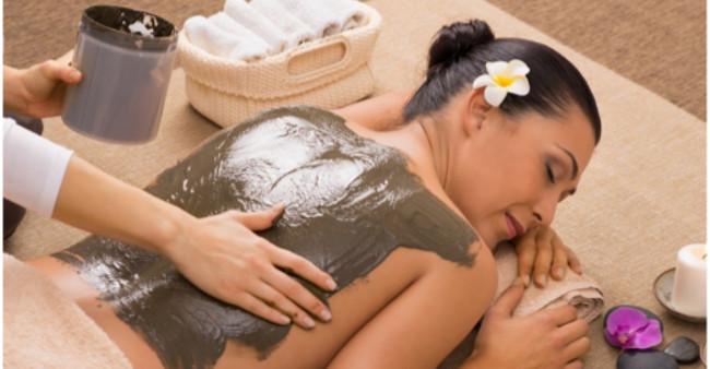 Resultado de imagen para masajes barro mar muerto